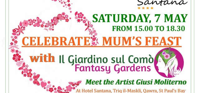 Celebrate Mum's Feast with Il Giardino sul Comò